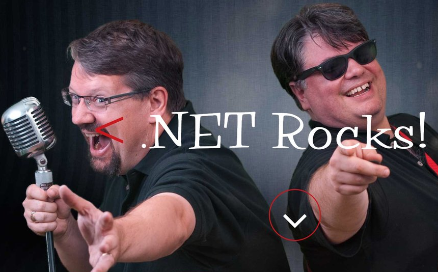 ".Net Rocks podcast – ""Teaching Experienced Developers"""